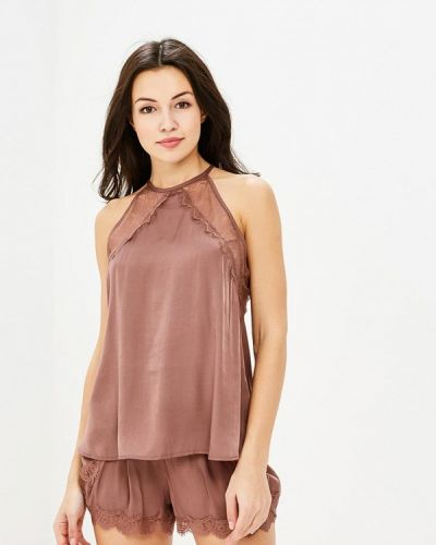 Коричневая пижама Deseo