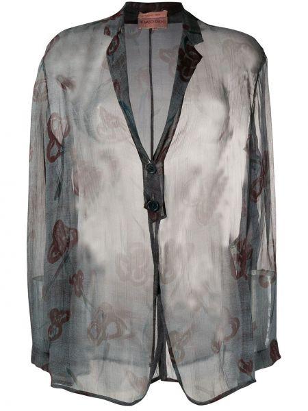 Пиджак винтажный прозрачный Romeo Gigli Pre-owned
