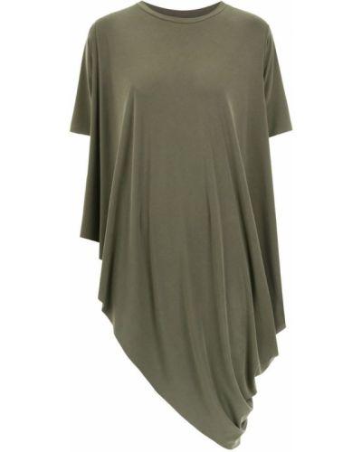 Блузка зеленый асимметричная Uma   Raquel Davidowicz