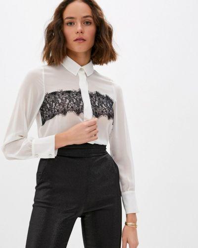 Белая блузка с длинными рукавами Blugirl Folies