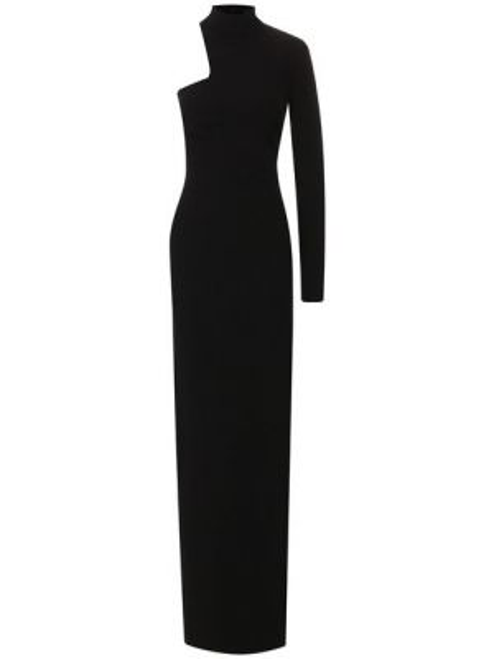Облегающее платье на одно плечо макси Tom Ford