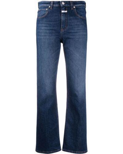 Синие джинсы на молнии Closed
