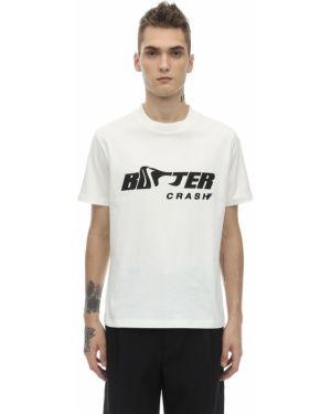 Biały t-shirt bawełniany Botter