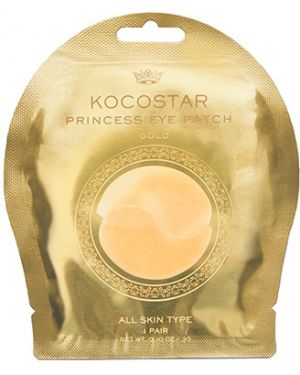 Патчи под глаза от отечности с золотом Kocostar