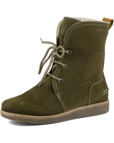 Ботинки на шнуровке - бежевые Burgerschuhe
