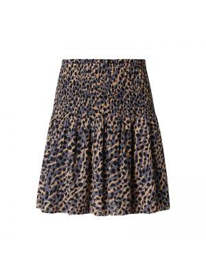 Spódnica mini rozkloszowana z falbanami z wiskozy Catwalk Junkie