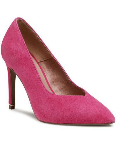 Czółenka szpilki - różowe Tamaris