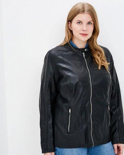 Кожаная куртка черная весенняя Rosa Thea