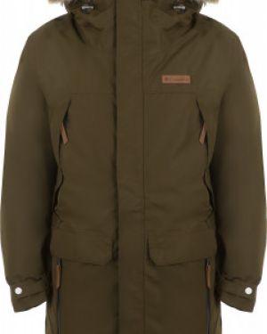 Спортивная прямая куртка с капюшоном на молнии с карманами Columbia