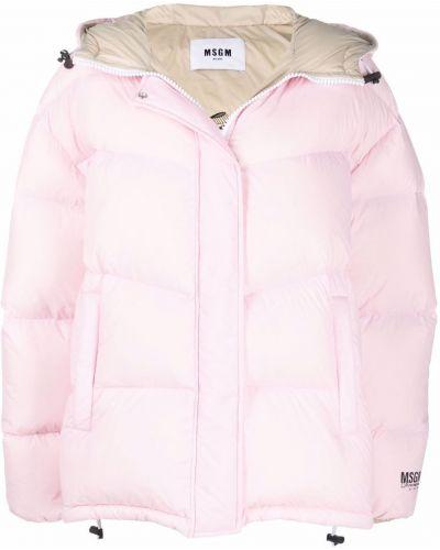 Дутая куртка - розовая Msgm