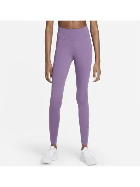 Fioletowe spodnie casual Nike