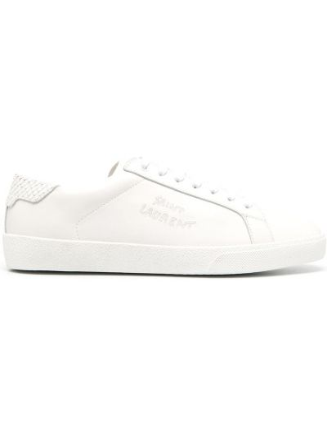 Sneakersy, biały Saint Laurent