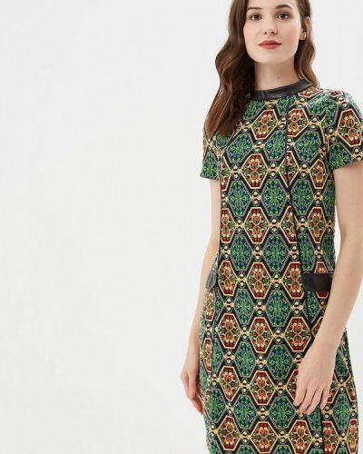 Платье-футболка - зеленое Tantino