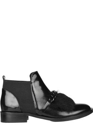 Кожаные полуботинки - черные Helena Soretti