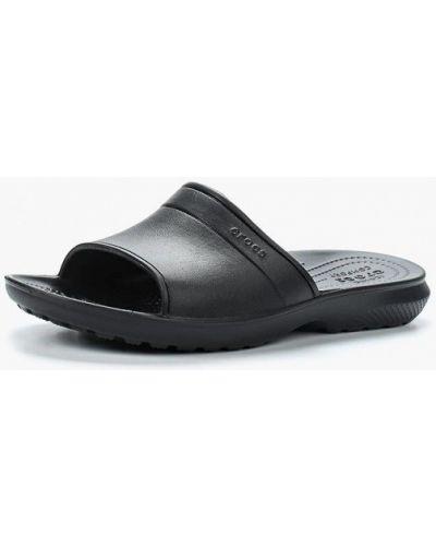 Сланцы черные Crocs