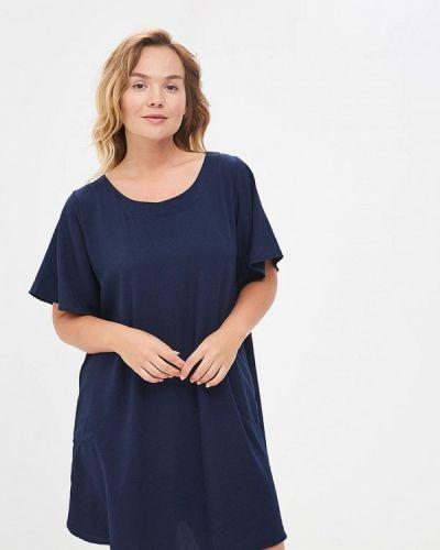 Синее платье Sparada