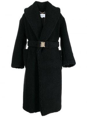 Czarny klasyczny płaszcz Casablanca