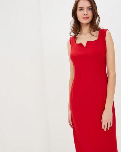 Платье красный Арт-Деко