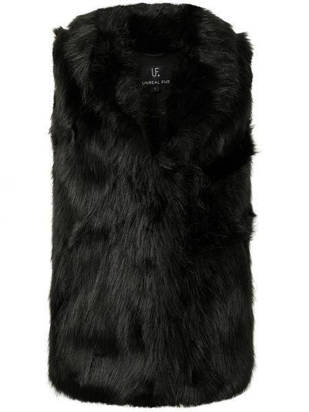 Czarna kamizelka Unreal Fur