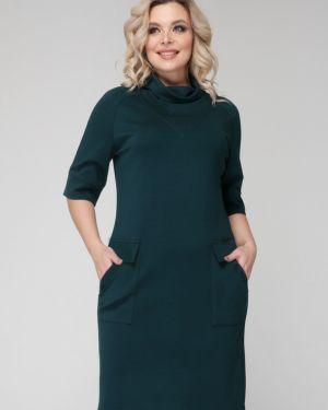 Деловое платье с V-образным вырезом платье-сарафан Ellcora
