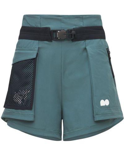 Серые шорты с карманами Nike