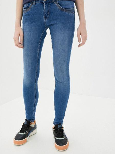 Городские синие джинсы-скинни с пайетками Urban Surface