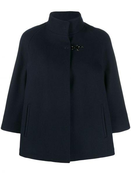 Синий короткая куртка Fay