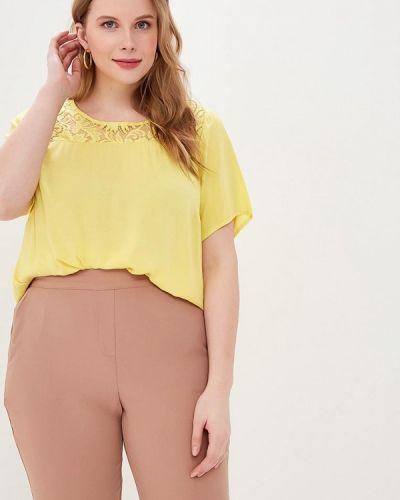 Блузка желтый Zizzi