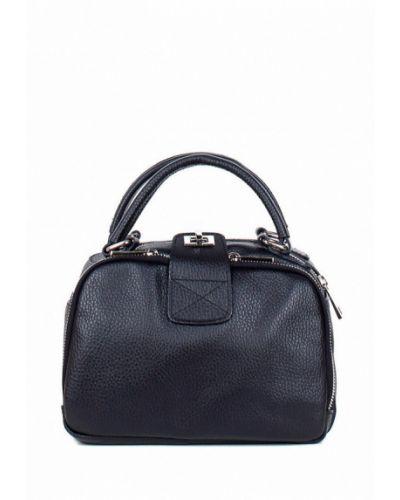 Кожаная сумка - черная Bella Bertucci