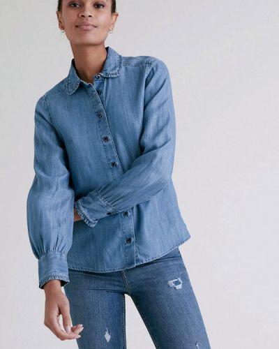 Синяя джинсовая рубашка Marks & Spencer