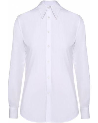 Белая блузка приталенная Ralph Lauren