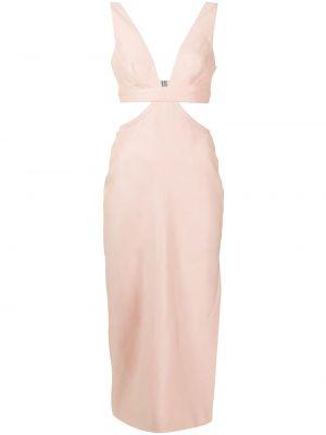 Платье миди - розовое Manning Cartell