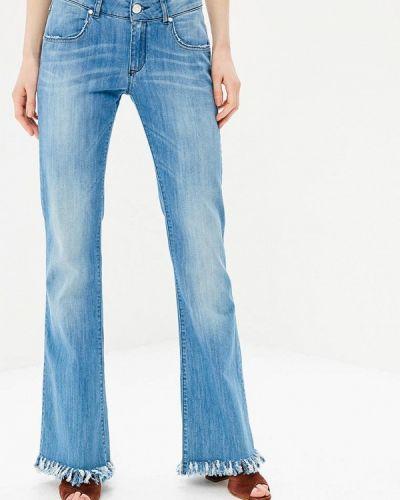 Голубые прямые джинсы Phard