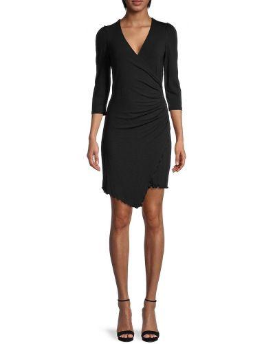 Sukienka asymetryczna - czarna Bailey 44