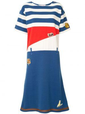 Платье мини миди с рукавами Marni