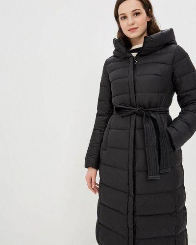 Зимняя куртка утепленная черная La Reine Blanche