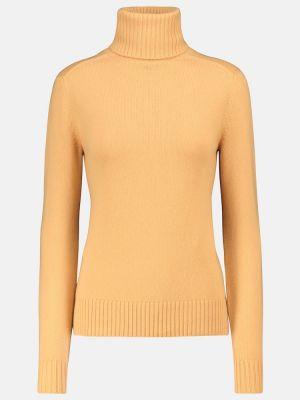 Кашемировый свитер - желтый Loro Piana