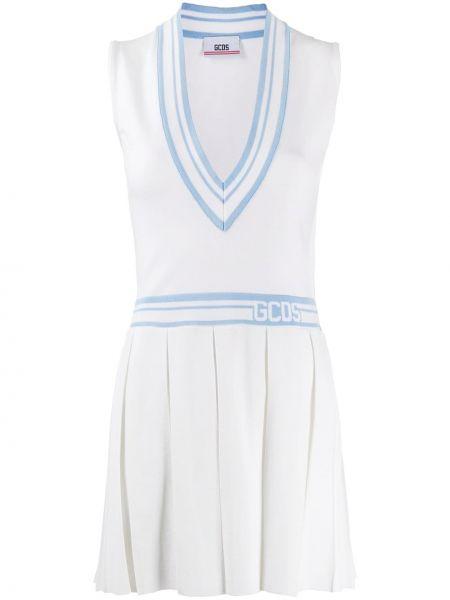 Платье плиссированное теннисное Gcds