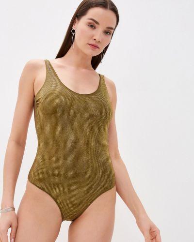 Слитный купальник - зеленый Fisico