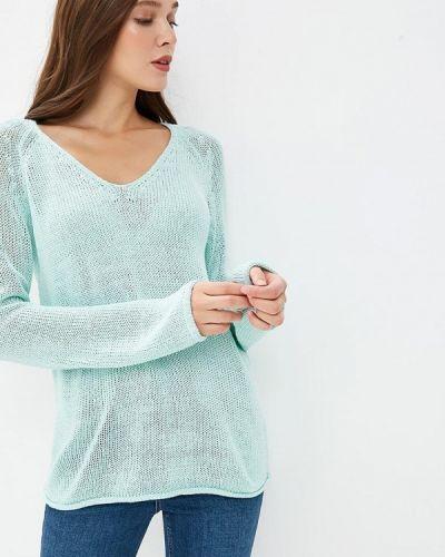 Бирюзовый пуловер Modis