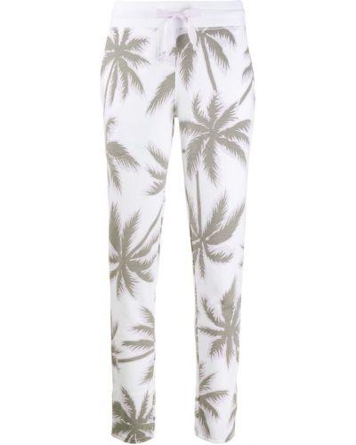 Спортивные брюки укороченные белые Juvia