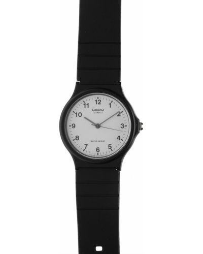Czarny zegarek kwarcowy na co dzień kwarc Casio