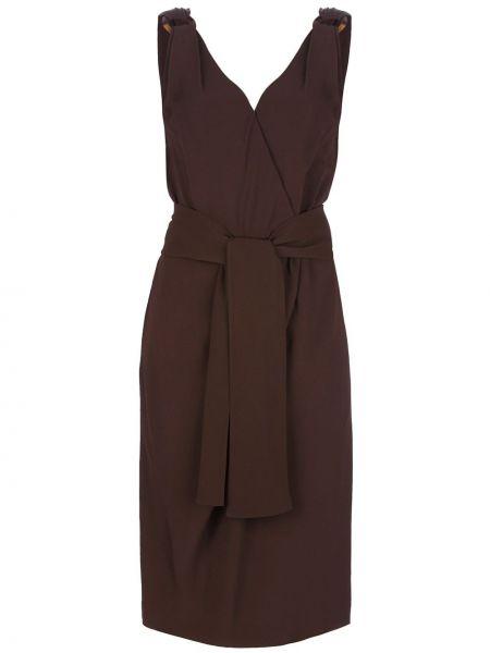Платье с поясом винтажная Yves Saint Laurent Pre-owned