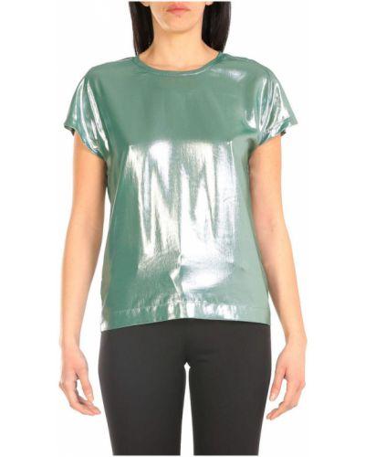 Koszula oversize - zielona Pinko