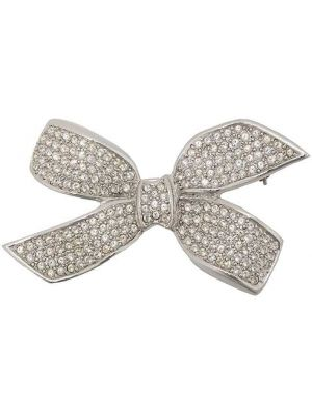 Broszka ze srebra srebro Christian Dior Pre-owned
