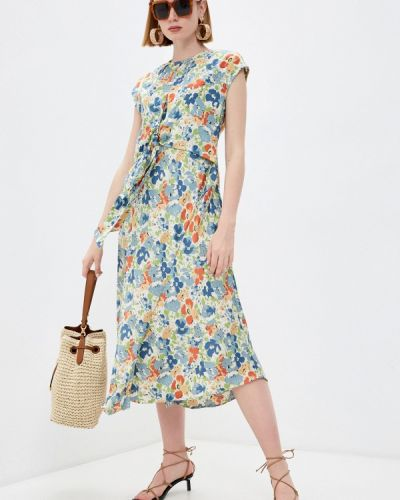 Разноцветное платье Lauren Ralph Lauren