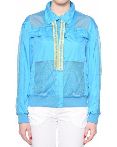 Ветровка голубой Trussardi Jeans