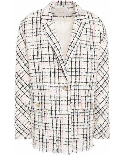 Ватный пиджак твидовый с подкладкой Maje