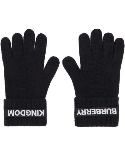 Кашемировые перчатки - белые Burberry
