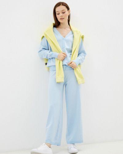 Вязаный костюм - голубой Moki
